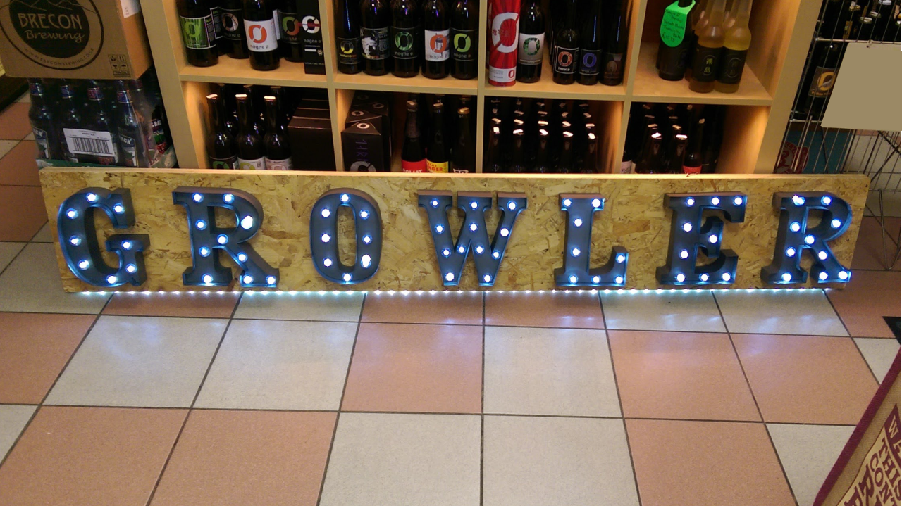 1280x720 Growler Sign