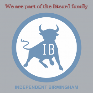 Independent Birmingham Card